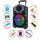 Karaoke zvočni sistem MANTA SPK5024 Kronos Bluetooth/USB/MP3/SD/RADIO 4000W