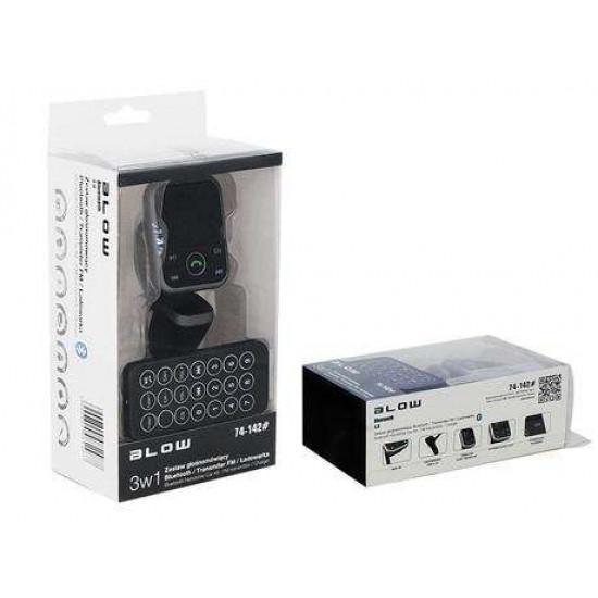 BLOW FM Oddajnik 3v1 Bluetooth + Polnilec + prostoročno telefoniranje