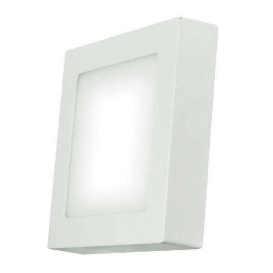 LED stropna svetilka Emos Panel S6W NW bela kvadratna