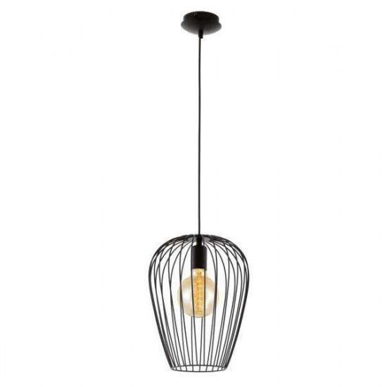 Viseča svetilka Eglo 49472 Newtown črna