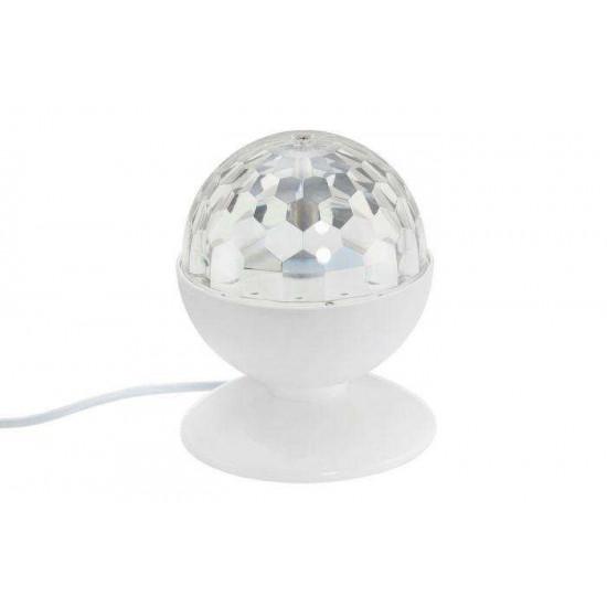 LED namizna svetilka Prisma RGB disco