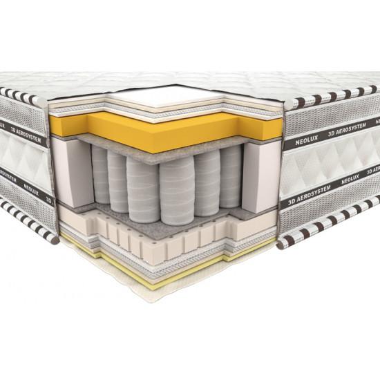 Spring Mattress 3D Imperial Memory Latex 90x200
