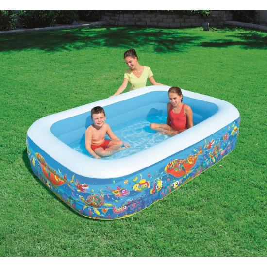 Družinski bazen Bestway 229 x 152 x 56 cm