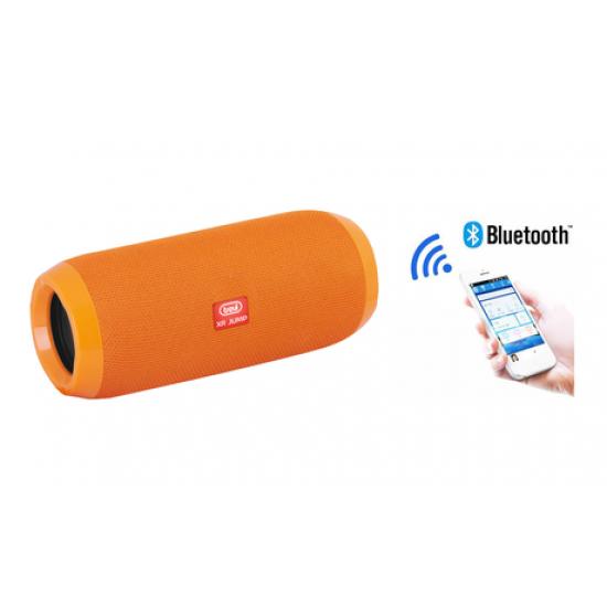 Bluetooth zvočnik TREVI XR JUMP XR 84 PLUS, BT, USB, MP3, MicroSD, AUX-IN, Radio FM, baterija, oranžen
