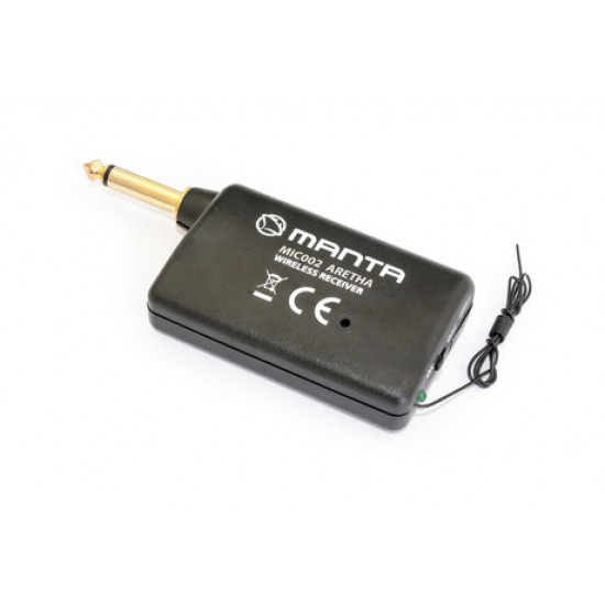 Brezžični mikrofon karaoke MANTA MIC002 ARETHA 6.3mm XLR konektor